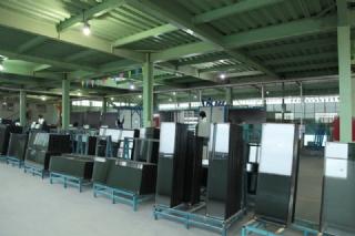 玻璃生产车间